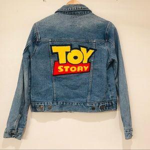 Toy Story Denim Jacket Disney Pixar Ltd Edition